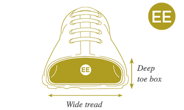EE Extra Wide Fitting Shoes