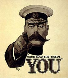 1914 - 18: FIRST WORLD WAR
