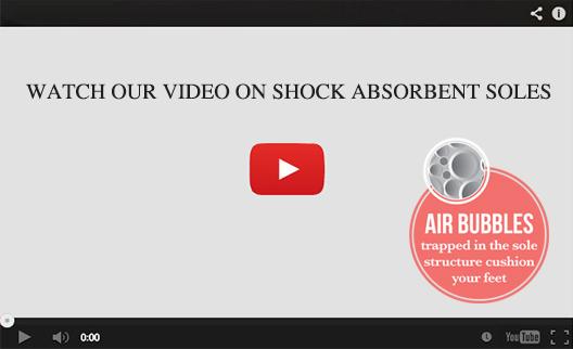 Shock Absorbent Soles
